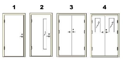 Какие подобрать двупольные противопожарные двери, критерии выбора.